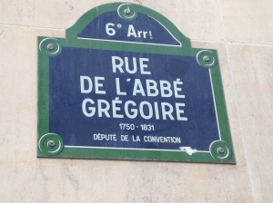L'école FERRANDI est située rue de l'Abbé Grégoire à Paris.