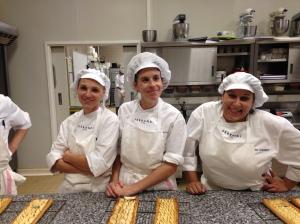 De gauche à droite, Christelle, Charlotte et Sandrine. Trois beaux tempéraments !