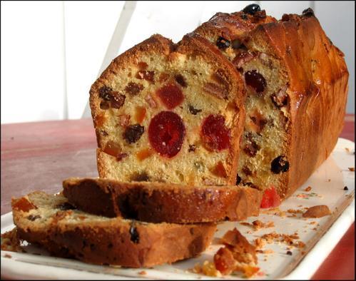 Cake Aux Fruits Confits Moelleux